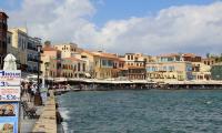 Романтичный старый город Ханья на Крите